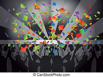 crowd concert