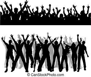 Crowd scenes - Two different crowd scenes