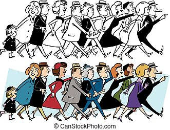 Crowd Walking