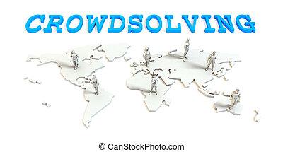 crowdsolving, グローバルなビジネス