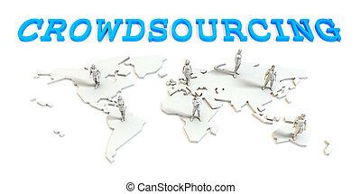 crowdsourcing, グローバルなビジネス
