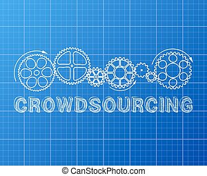 crowdsourcing, cianotipo
