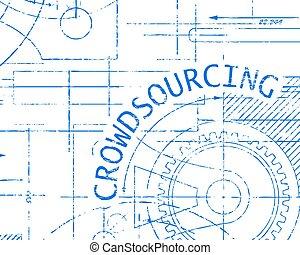 Crowdsourcing Graph Paper Machine - Crowdsourcing word on ...