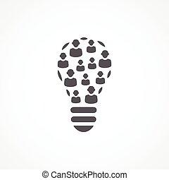 crowdsourcing, icono