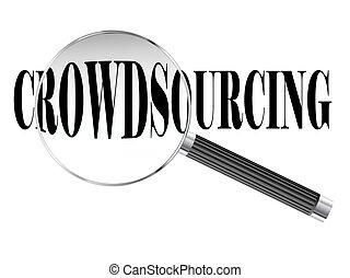 crowdsourcing, vidrio, aumentar