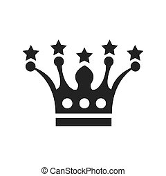 crown Awards vector icons design
