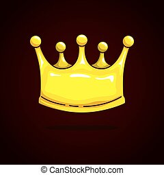 Gold Crown On Dark Background Ruby Sapphire Pearls Vector Illustration Canstock Download free cartoon crown silhouettes vectors and other types of cartoon crown silhouettes graphics and clipart at freevector.com! can stock photo