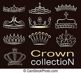 Crown collection set