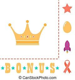Crown computer symbol