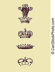 Crown Icon.  illustration.