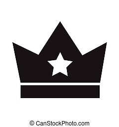 Crown icon Illustration design