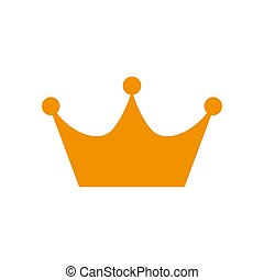 Crown Icon in trendy flat style isolated on white background. Crown symbol for your web site design, logo, app, UI. Vector illustration, EPS10.