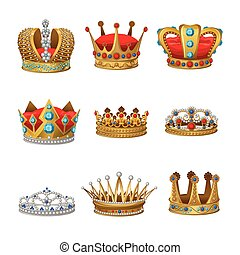 Crown Icon Set