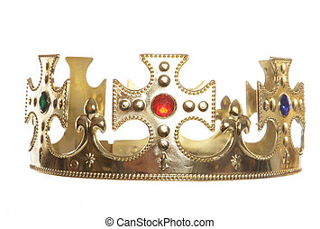 crown isolated - Crown isolated on a white background