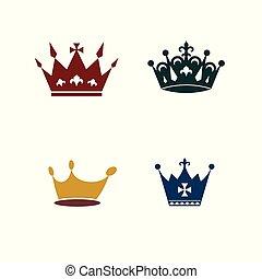 Crown logo design,