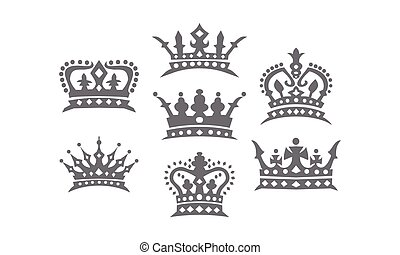 Crown Logo Set