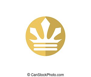 Crown Logo Template vector icon