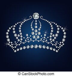 Crown made a lot of diamonds