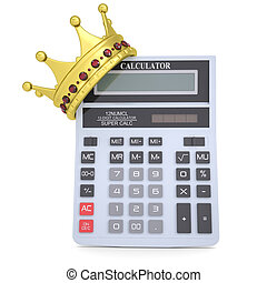 Crown on the calculator