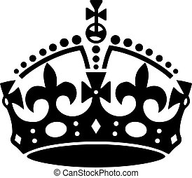 Crown  tattoo vector