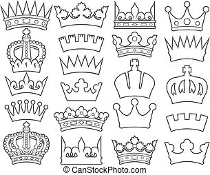 crown thin line collection (set)