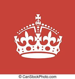 Crown Vector Illustration.