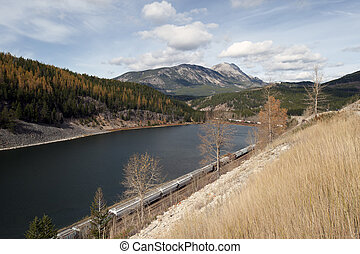 Crownest Pass by BC-Alberta boundary