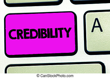 croyable, believed, credibility., business, être, photo, ...
