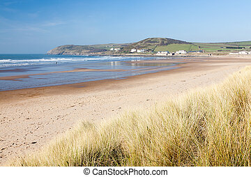 Croyde Devon England UK
