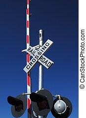 cruce, ferrocarril