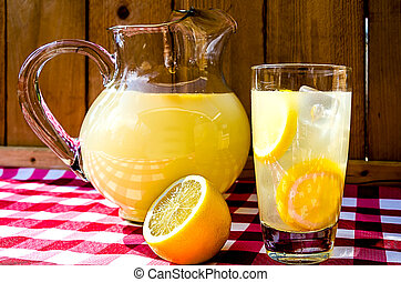cruche, limonade