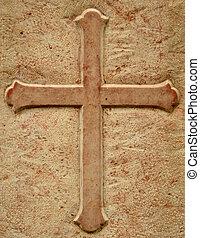 Crucifix Gravestone