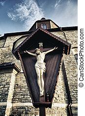 Crucifix in Kamenetz-Podolsk Church