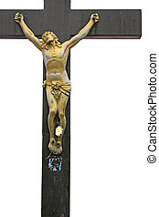 Jesus Cross, isolated on white background