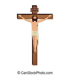 crucifixión, de, jesucristo