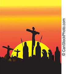 crucifixión, jesucristo