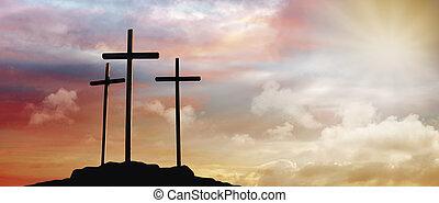 crucifixion, jésus christ