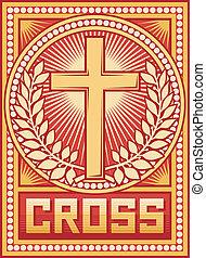 crucifixos, cartaz