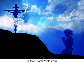 crucifixos, oração