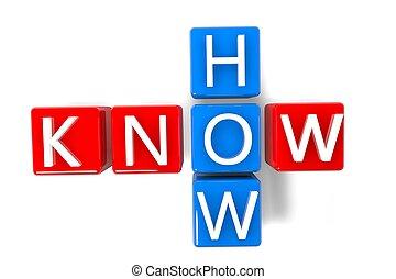 crucigrama, saber, cómo