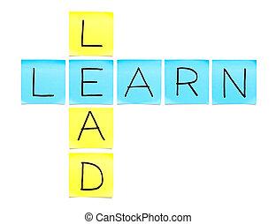 cruciverba, learn-lead