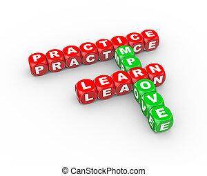 cruciverba, pratica, 3d, migliorare, imparare