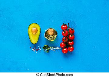 crudo, bio, cibo