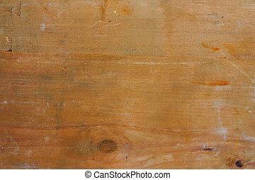 crudo, viejo, textura de madera