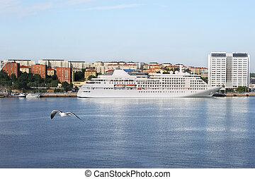 Stockholm sea port