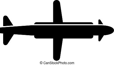 Cruise missile, shade picture