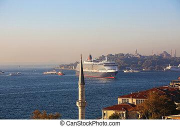 Cruise Ship Bosphorus Istanbul