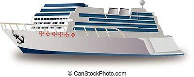 Cruise Ship, illustration