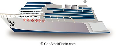 Cruise Ship, illustration