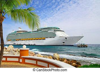 Cruise Ship in port